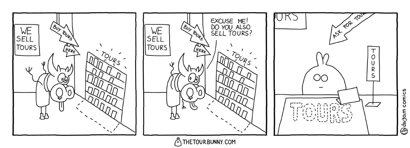 0001 – Do You Sell Tours?
