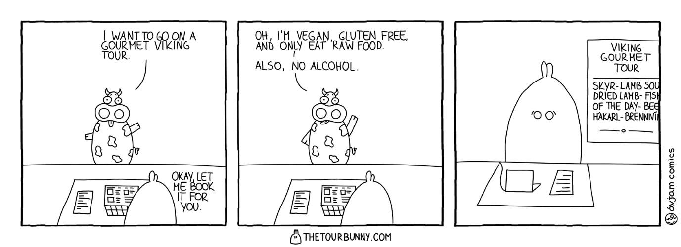 0025 – The Gourmet One