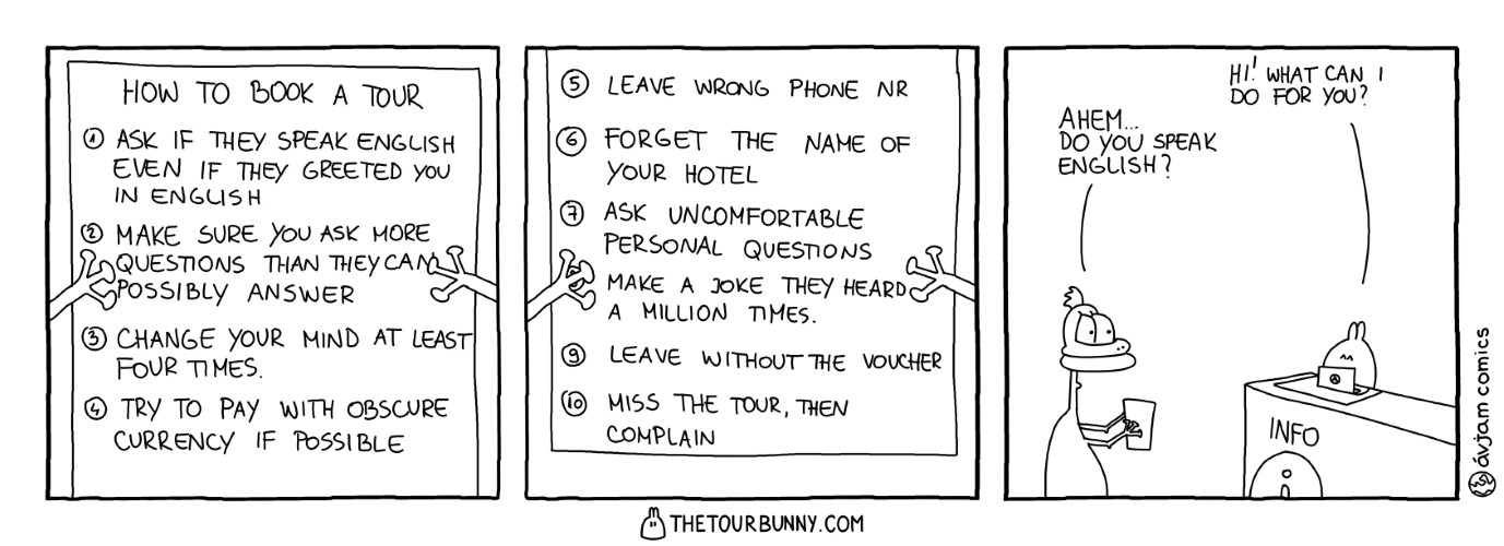 0261 – How to Book a Tour